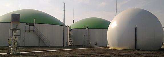 Weltec biogas plant