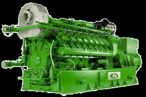 2G Avus 1500c CHP. MWM TCG 2020 V16. 1,560kW. natural gas.