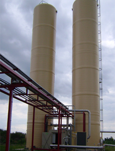 biological desulfurization for a paper factory in Serbia.
