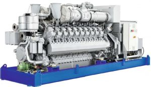 moteur cogénération MTU V20.