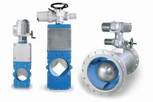 VACOMASS® Elliptic et Square Diaphragm Control vannes Jet Control.